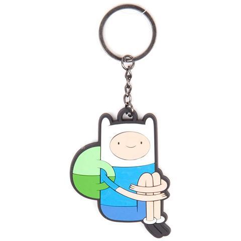 BIOWORLD Adventure Time - Sitting Finn (Portachiavi)
