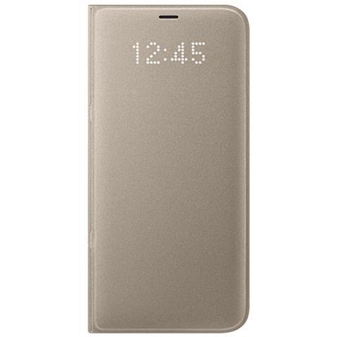SAMSUNG Cover LED View per Galaxy S8 Plus Colore Oro