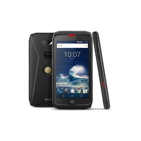 "CROSSCALL Action X3 Nero / Rosso 32 GB 4G / LTE Dual Sim Impermeabile Display 5"" HD Fotocamera 12 Mpx Android Italia"