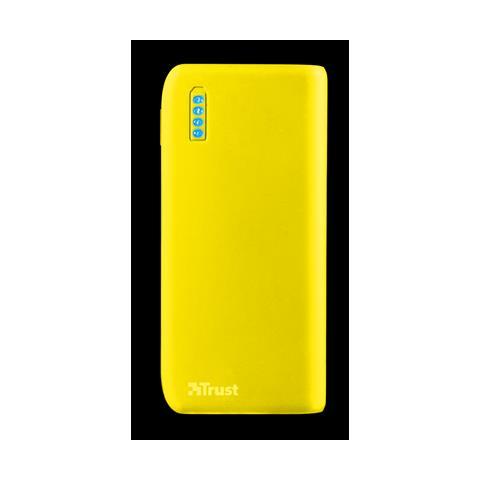 TRUST Primo Ioni di Litio 4400mAh Giallo batteria portatile