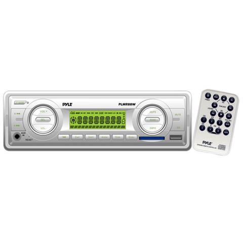 Pyle Autoradio AM / FM 4x 40 W Supporto MP3 Supporto MP3 / Aux Argento
