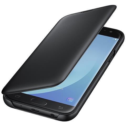 SAMSUNG Flip Cover Custodia per Galaxy J5 Colore Nero