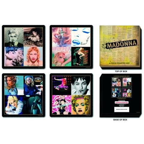 Madonna - Albums Covers (set 4 Sottobicchieri)