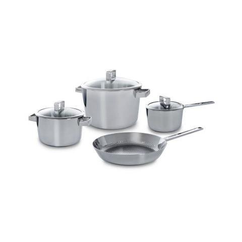 BK Cookware Set di pentole Conical Deluxe 4 pezzi
