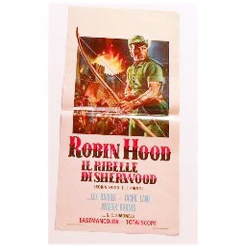 Vendilosubito Locandina Robin Hood Il Ribelle Di Sherwood-barker-avventura