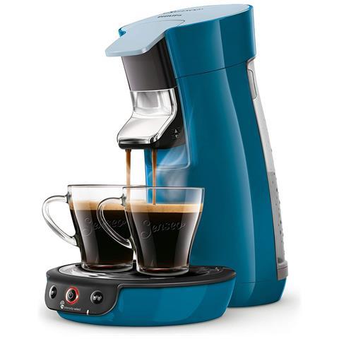 Macchina da Caffè Espresso Automatica Senseo Viva Café Serbatoio 0.9 Lt. Potenza 1450 Watt Colore Blu