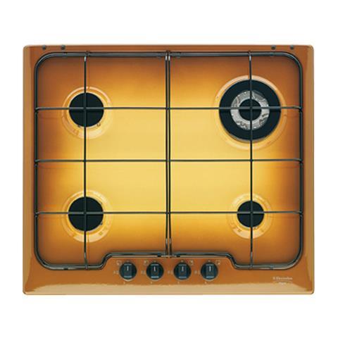 ELECTROLUX - Piano Cottura PT640UV a Gas 4 Fuochi Colore Terra di ...
