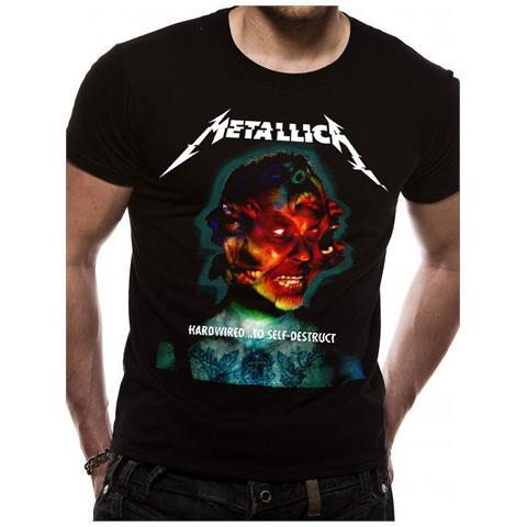CID Metallica - Hardwired Album Cover (T-Shirt Unisex Tg. L)