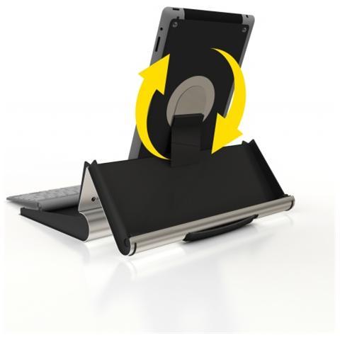 BAKKERELKHUIZEN TabletRiser Interno Active holder Alluminio, Nero