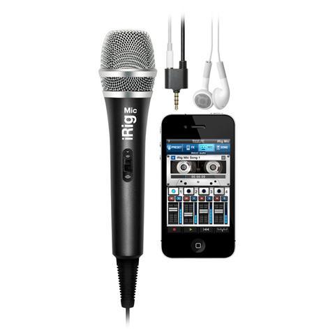 IK MULTIMEDIA iRig Mic microfono analogico portatile per iOS & Android