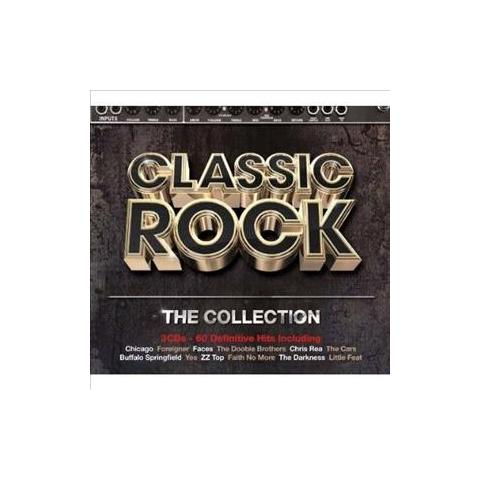 WARNER BROS Cd Classic Rock - The Collection (3 Cd)