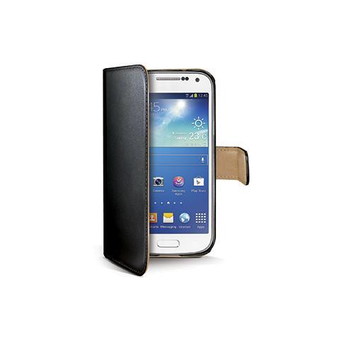 CELLY black pu wallet case galaxy s4 mini