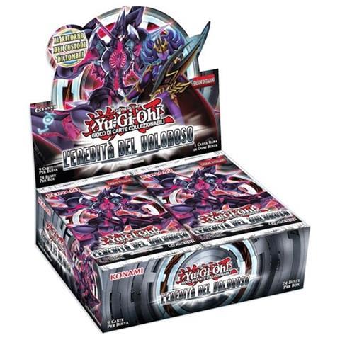 KONAMI Carte Yu-Gi-Oh! L'Eredità del Valoroso