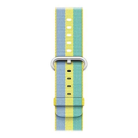 APPLE Cinturino in nylon intrecciato giallo limone (38 mm)