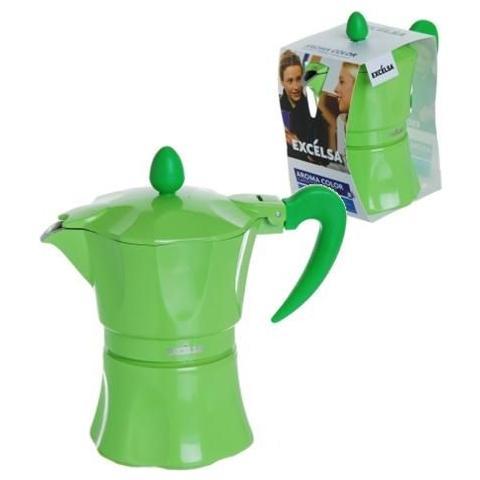 Caffettiera 1 Tazza - Modello Aroma Color Verde