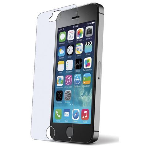 CELLULAR LINE Pellicola Salvaschermo Vetro Temperato Antiurto per iPhone 5s