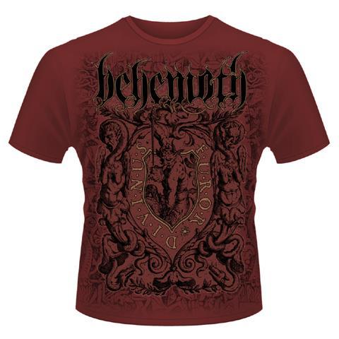 PLASTIC HEAD Behemoth - Furor Divinus Maroon (T-Shirt Unisex Tg. 2XL)