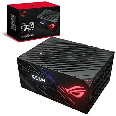 Image of Alimentatore PC Rog Thor 1200P Certificazione 80 Plus Platinum Potenza 1200 W Colore Nero