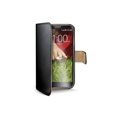 CELLY black pu wallet case g2