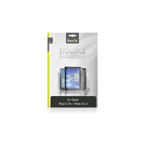 FONEX Pellicola Protettiva Anti Impronta per iPad Air 5 / Air 2 (2Pz)