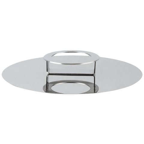 Coperchio / Alzata in Acciaio Lucido Diametro 30cm - Linea Foodwear