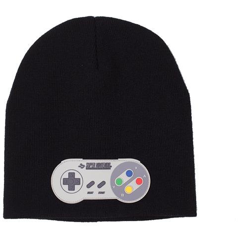 BIOWORLD Super Nintendo - Controller Patch Black (Berretto)