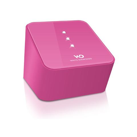 WHITE DIAMONDS Crystal Speaker Bluetooth Pink
