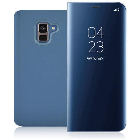 FONEX Book Sky Smart Cover per Samsung Galaxy J6 Colore Blu