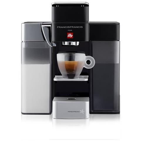 Macchina Del Caffe Capsule Iperespresso Home Y5 Milk Nero + Omaggio Capsule