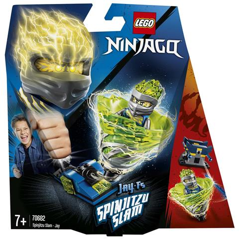 LEGO Ninjago - Gioco per Bambini Slam Spinjitzu Jay, Multicolore, 6265503