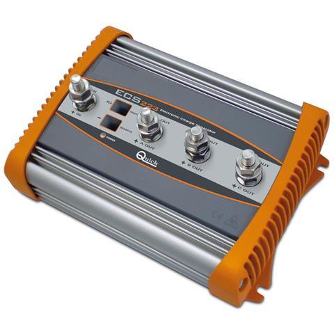 Separatore Di Carica Modello Ecs223 - 220a - 3 Outputs #qecs223