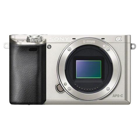 Image of Alpha 6000 Silver Body Sensore CMOS Exmor 24 Mpx Display Filmati Full HD Wi-Fi NFC