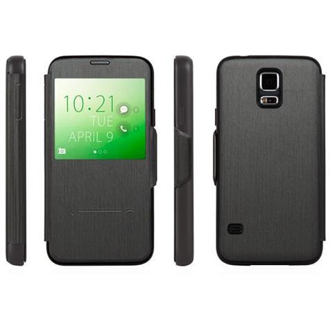 MOSHI Sense Cover Steel Black Galaxy S5