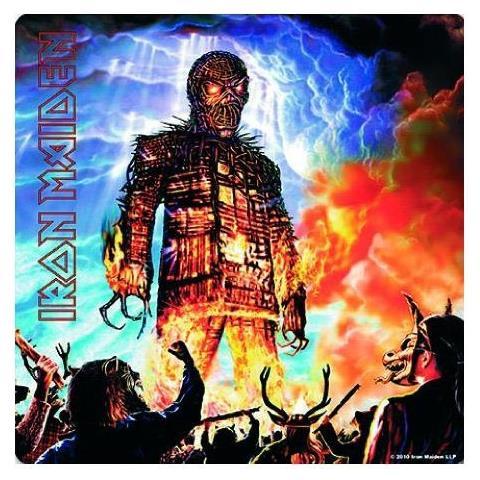 Iron Maiden - Wicker Man (sottobicchiere)