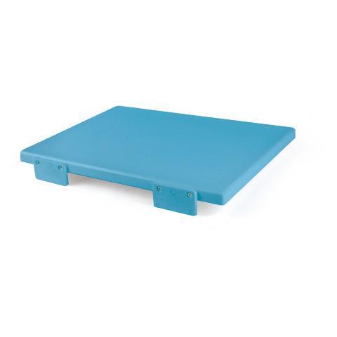 Tagliere Con Fermi Polietilene 40X30x2 Blu 5602
