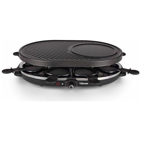 Griglia Per Raclette Per 8 Persone Ra-2996 1200 W