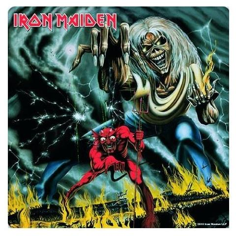 Iron Maiden - Number Of The Beast (sottobicchiere)