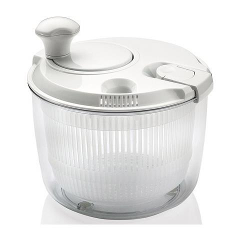 Scolainsalata Mini Con Manovella Bianco 20x19 2,5 Litri
