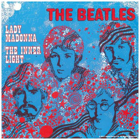 Beatles (the) : Lady Madonna The Inner Light (sottobicchiere)