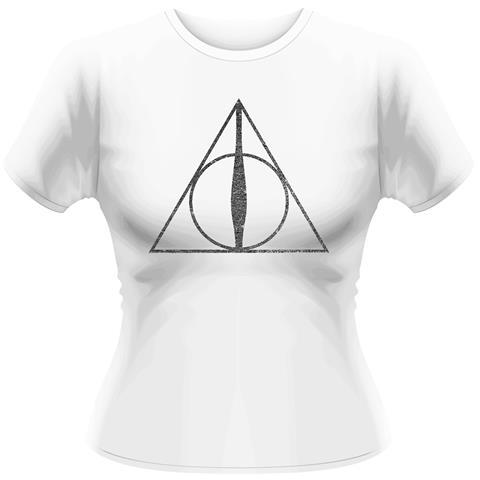 PLASTIC HEAD Harry Potter - Deathly Hallows Symbol (T-Shirt Donna Tg. L)