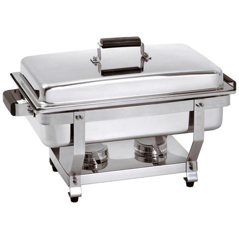 500456 Chafing dishes Scaldavivande GN1/1 in acciaio cromato