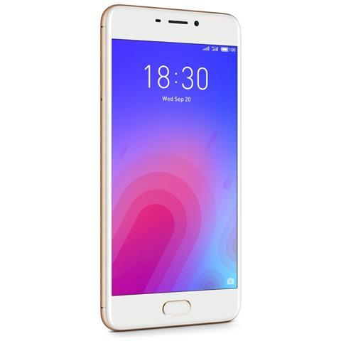 "MEIZU M6 Oro 32 GB 4G / LTE Dual Sim Display 5.2"" HD Slot Micro SD Fotocamera 13 Mpx Android Tim Italia"