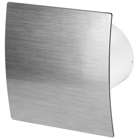 125mm Timer Aspiùatore Argento Abs Pannello Frontale Escudo Parete Soffitto Ventilatore