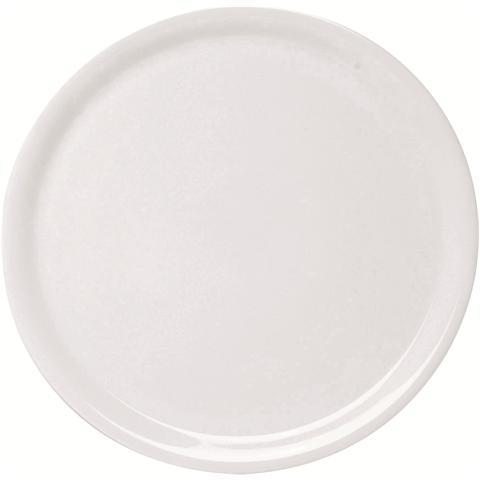 EXCELSA Piatto Pizza in Ceramica Bianco Napoli 33,0 cm