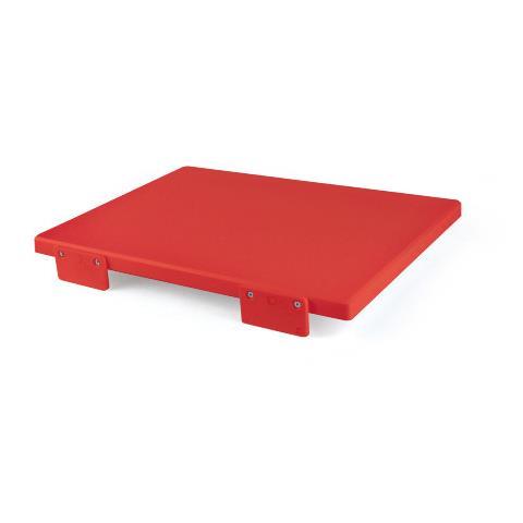 Tagliere in Polietilene Rosso 50x2x30 cm