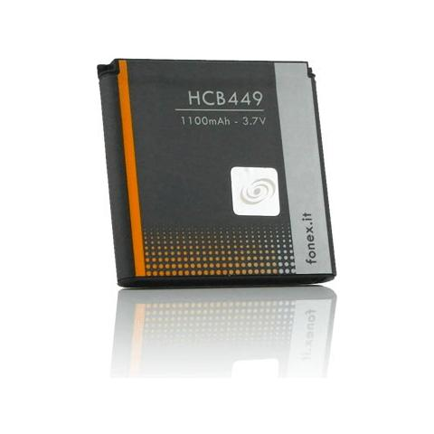 FONEX Batteria Li-Ion High Capacity 1100 mAh per Nokia 9300 / N73