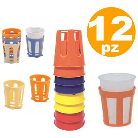 12 Pz Sottobicchieri Reggibicchieri In Plastica Reggi Sotto Bicchieri Bicchiere