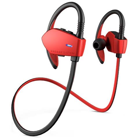 ENERGY SISTEM Energy Earphones Sport 1 Bluetooth Aggancio Stereofonico Bluetooth Nero, Rosso auricolare per telefono cellulare