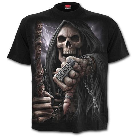 SPIRAL Boss Reaper - T-Shirt Black (T-Shirt Unisex Tg. S)
