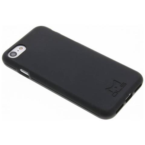 MOLS Custodia Antiurto per Iphone 7 Sottile e Flessibile Italian Design Colore Nero